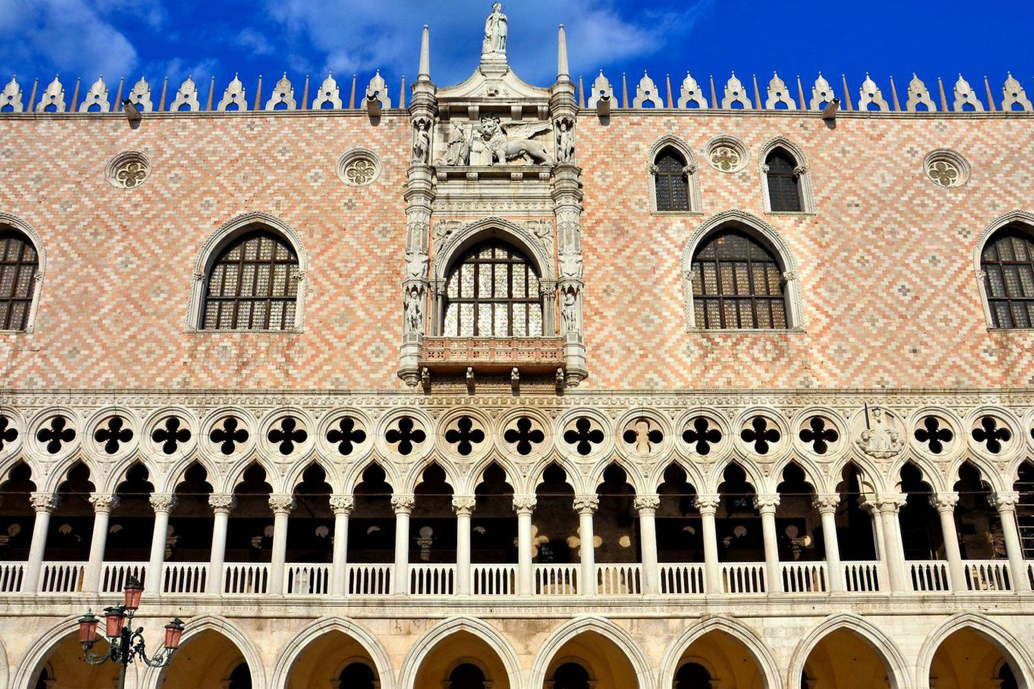 The Doge's Palace in Venice is a miracle in stone