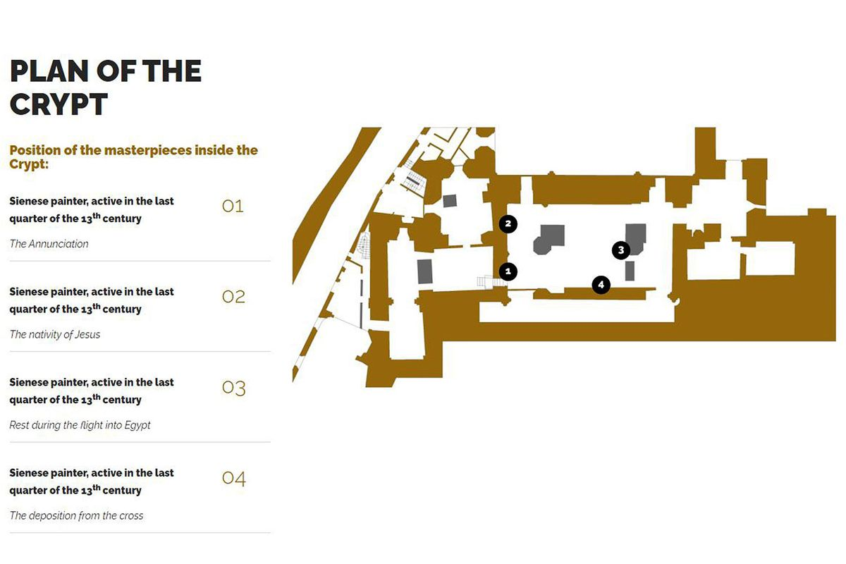 Plan of the Crypt