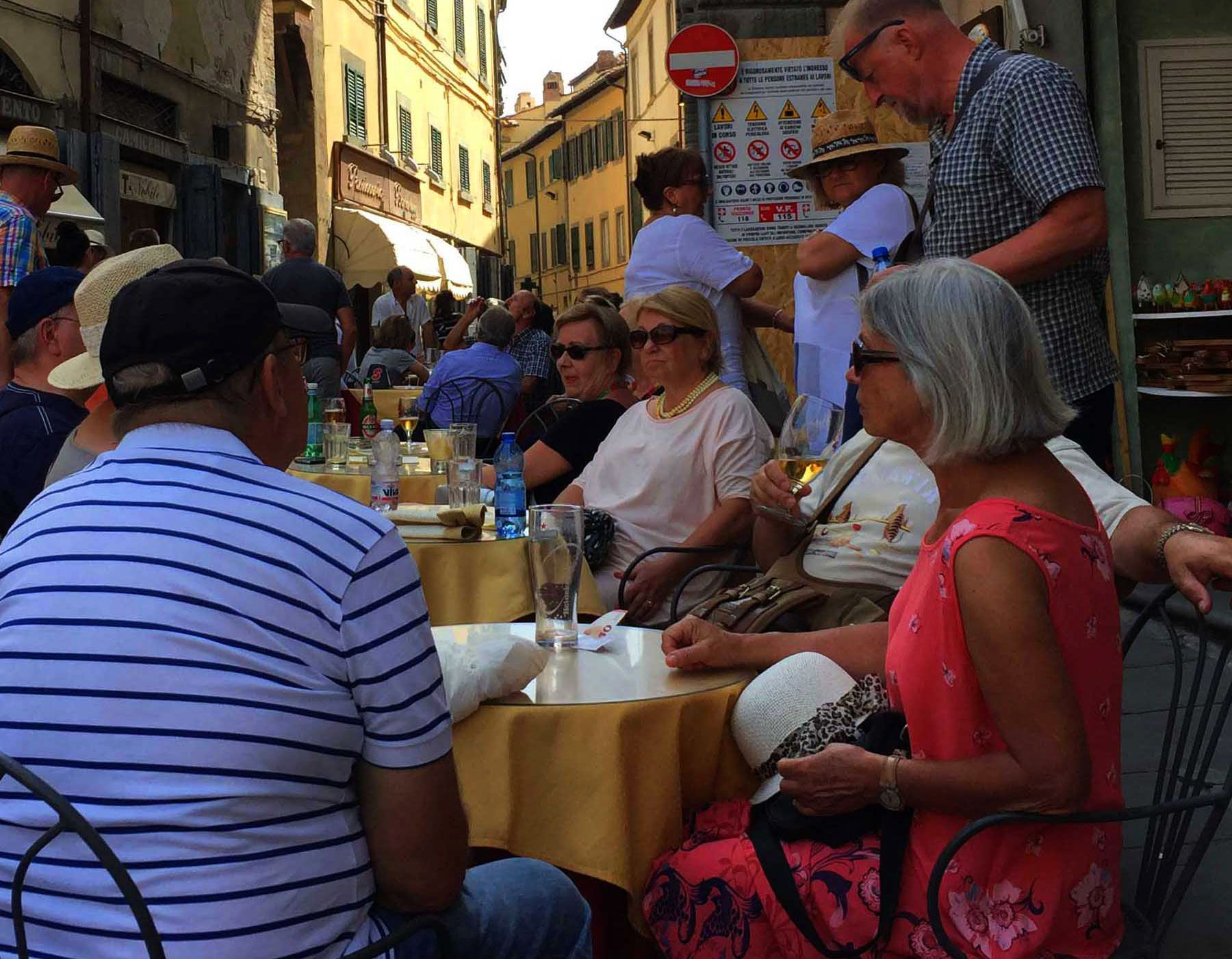 Cortona's popularity with tourists is turning village life into bedlam for the locals.