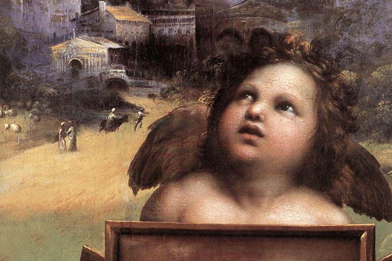The Madonna of Foligno (detail) 1511-12 Pinacoteca, Vatican