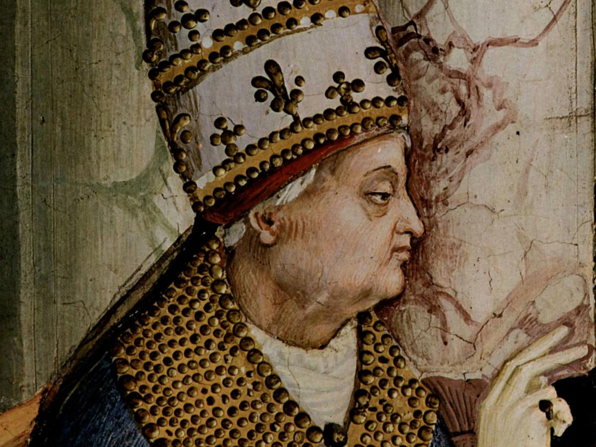 Pius II was an outstanding Italian humanist and astute politician.