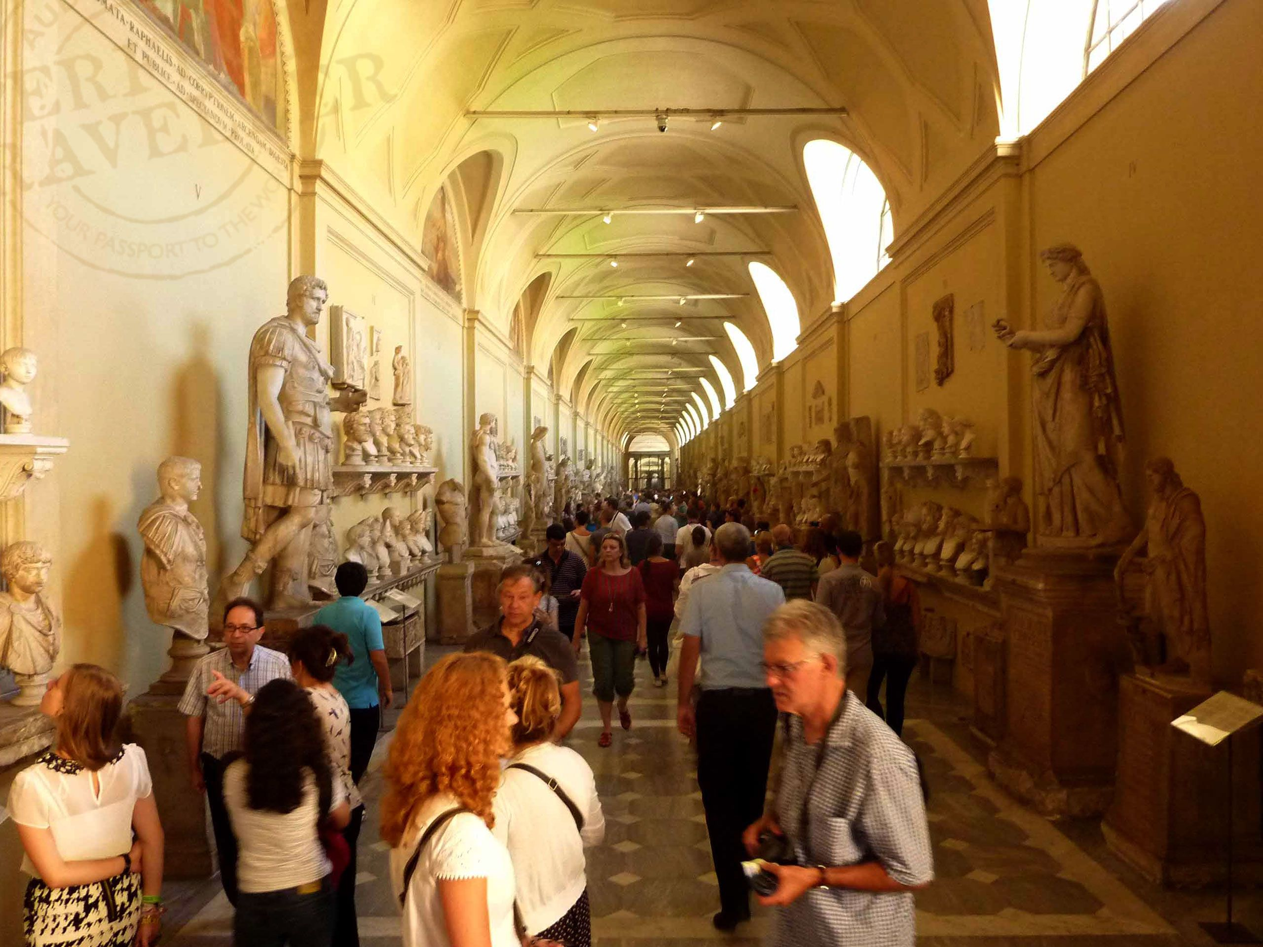 Miles of History in the Vatican Museums