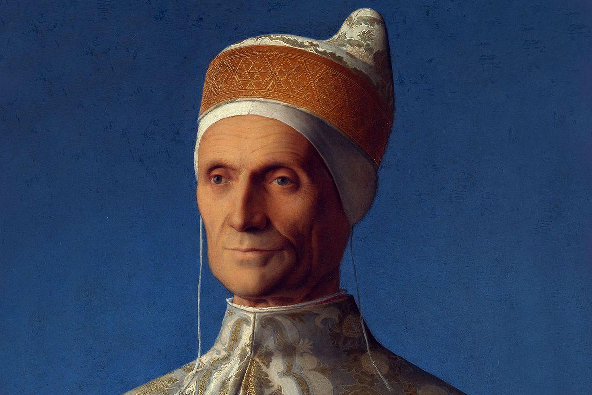 Portrait of Doge Leonardo Loredan painted by Giovanni Bellini in 1501