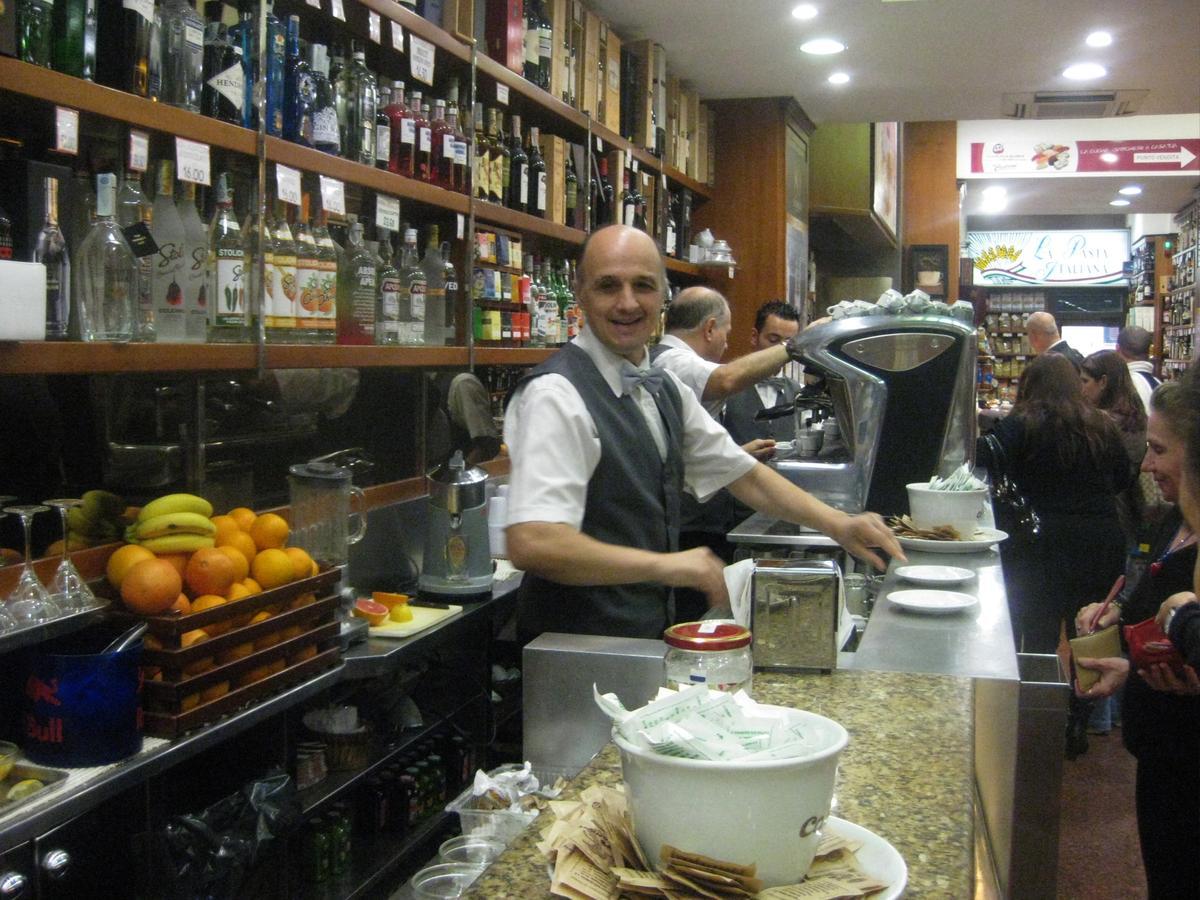 Morning Rush Hour in Naples