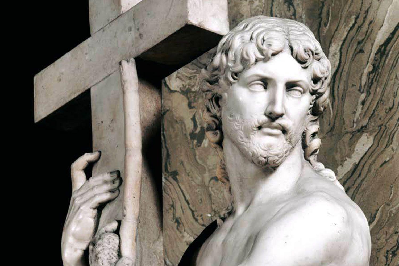 Christ Risen by Michelangelo, Rome