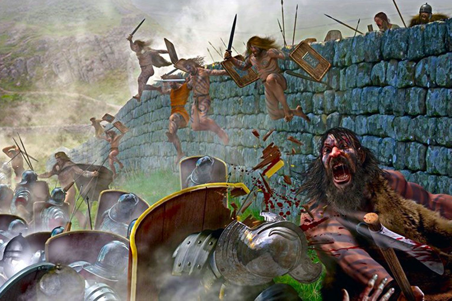 The fierce brutality of the Picts tested Roman resolve