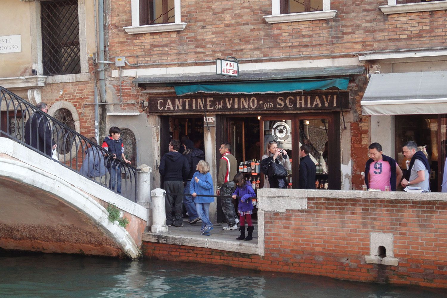 The sea is your constant neighbour in Venice