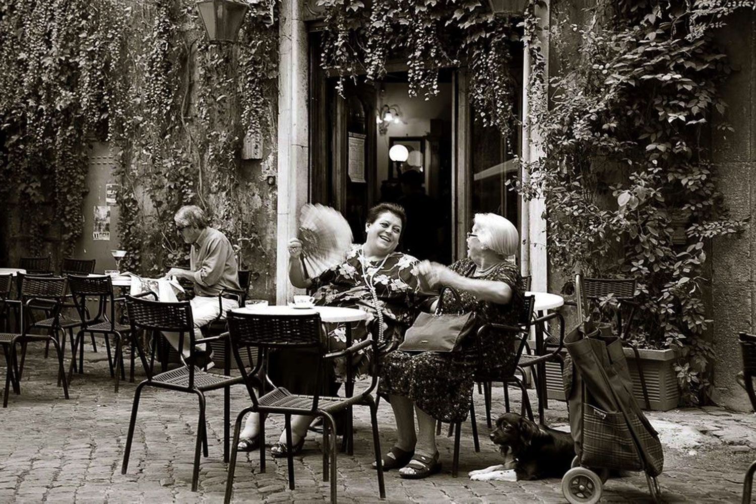 When Italians meet for a coffee there is much to discuss