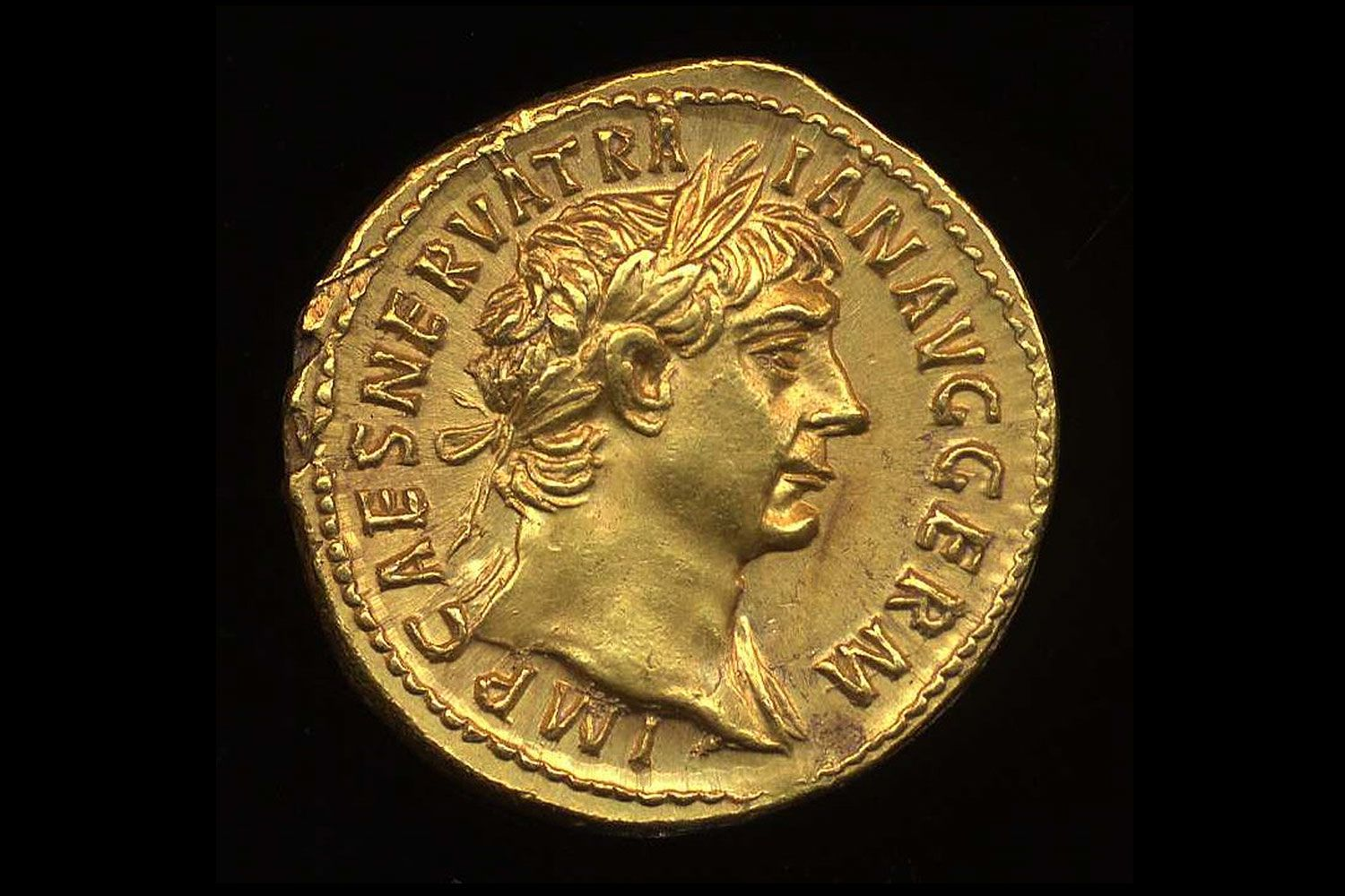 Rare Roman coin from the reign of Trajan