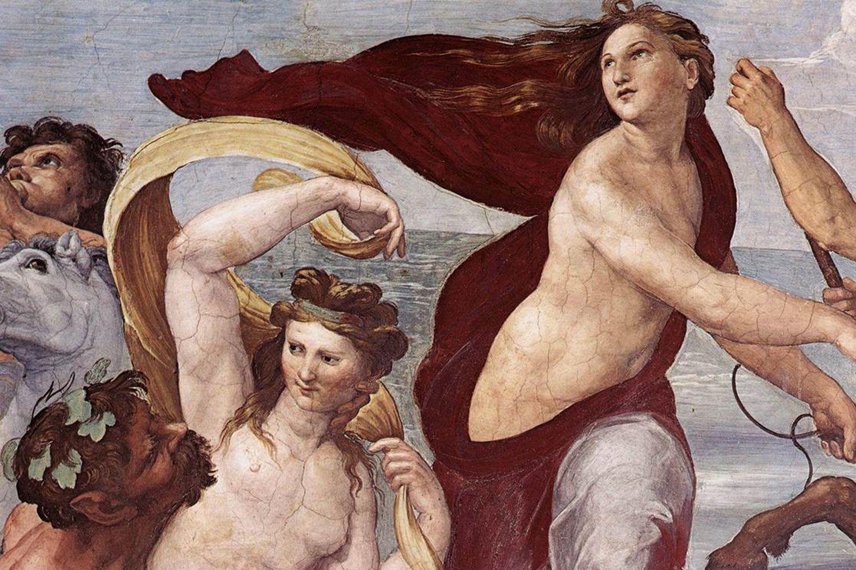 The Voyage of Galatea (1511) in the Villa Farnesina Rome