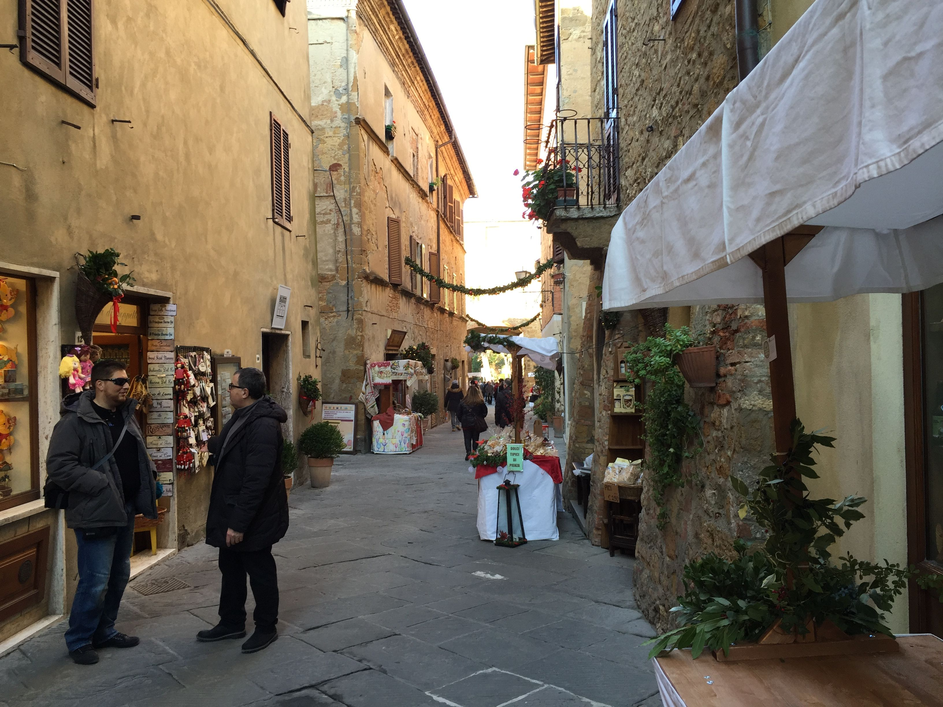 Corso Rossellino, the main street of Pienza