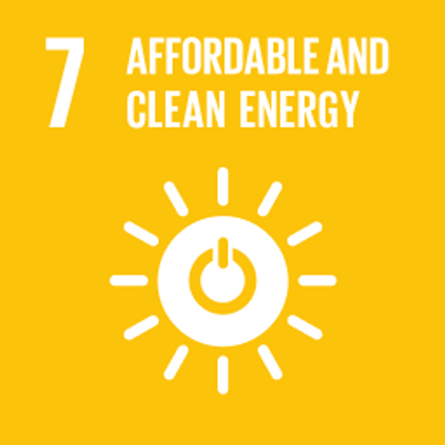 UN Sustainable Development Goals Affordable and Clean Energy