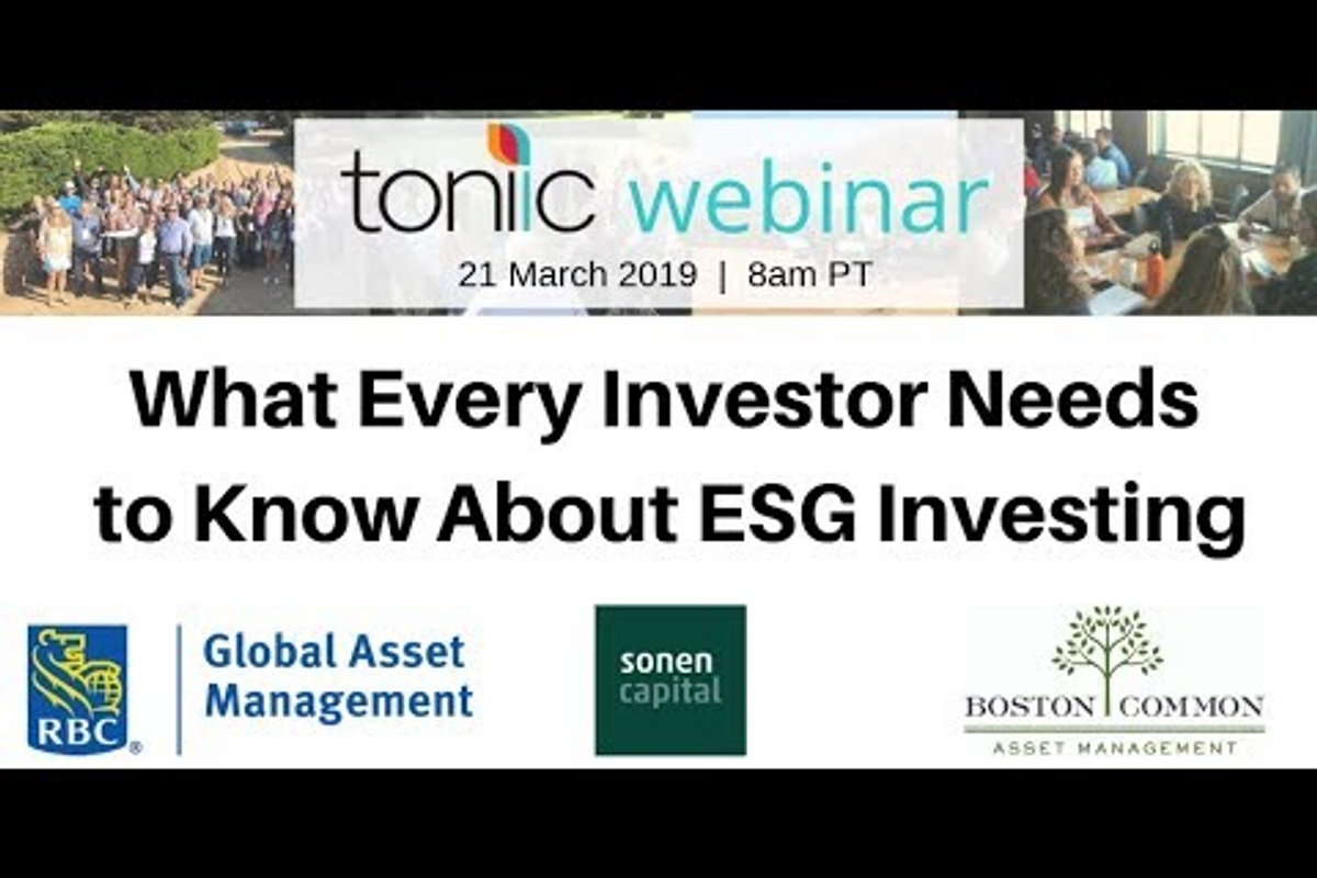 What Every Investor Needs to Know About ESG Investing