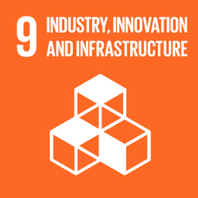 UN Sustainable Development Goals Industry, Innovation and Infrastructure