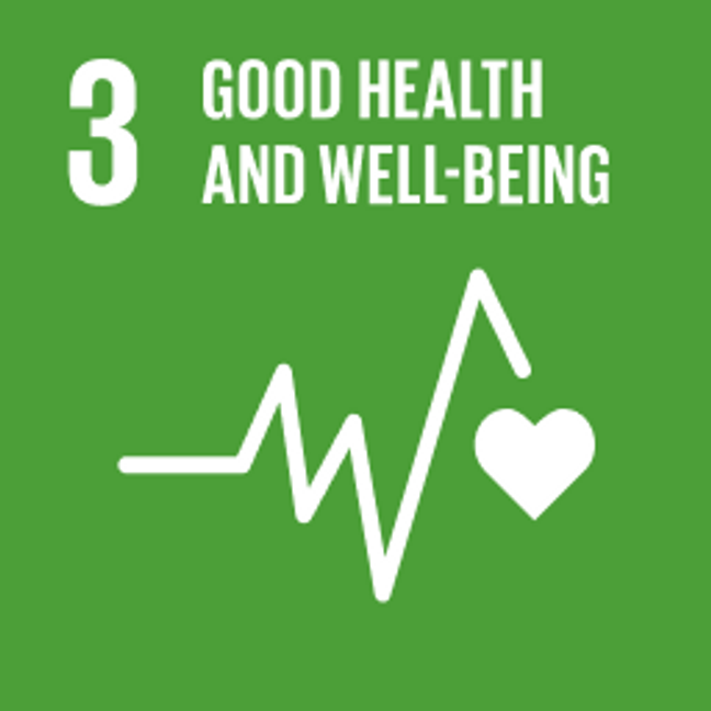 UN Sustainable Development Goals Good Health and Wellbeing