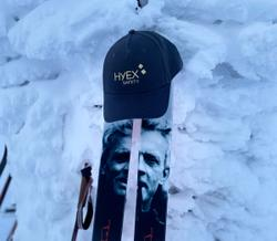 HYEX-caps on top of mountain