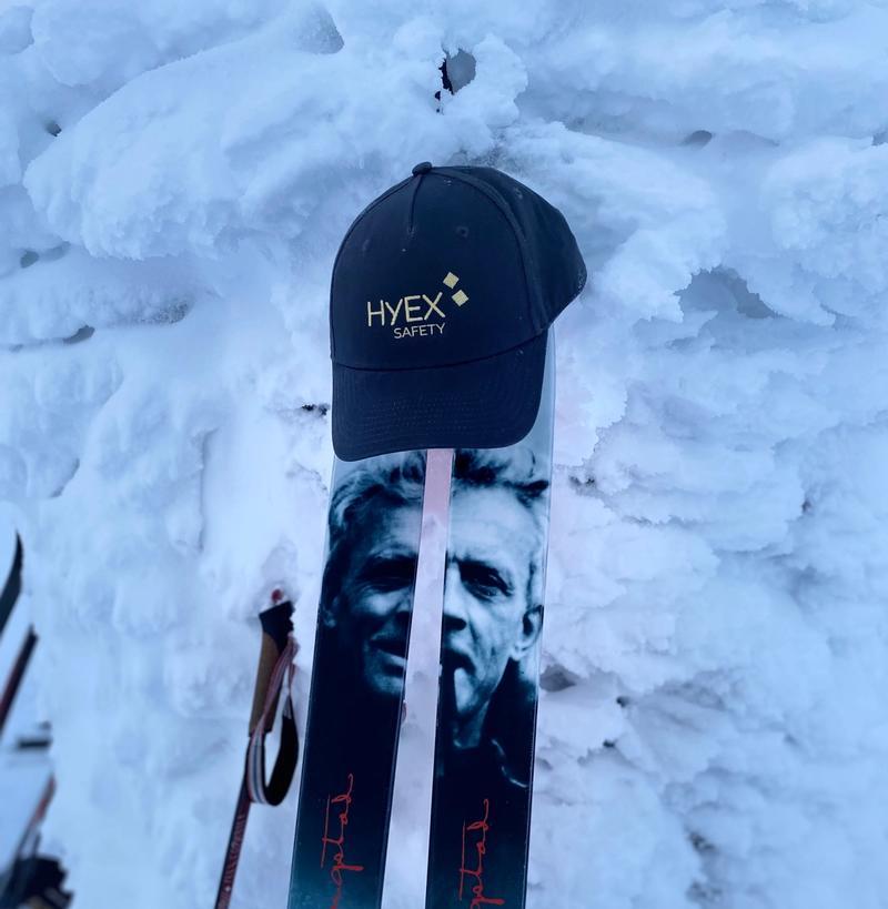 HYEX-caps on top of mountain