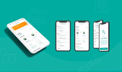 SmartRent's Community Manage mobile app screen