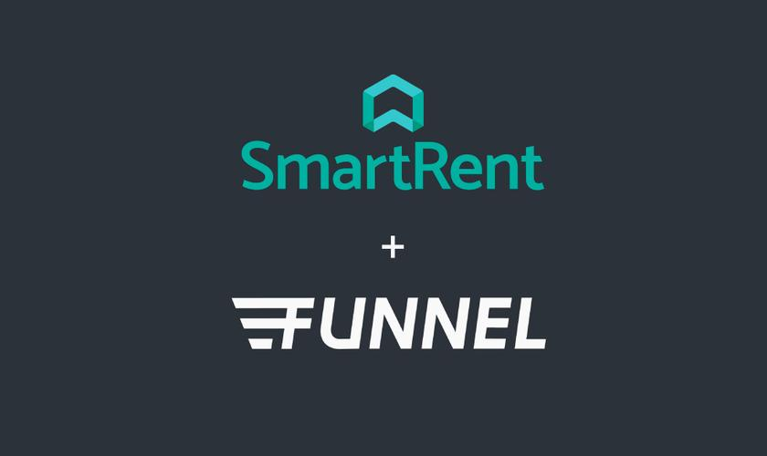 SmartRent and Funnel logos