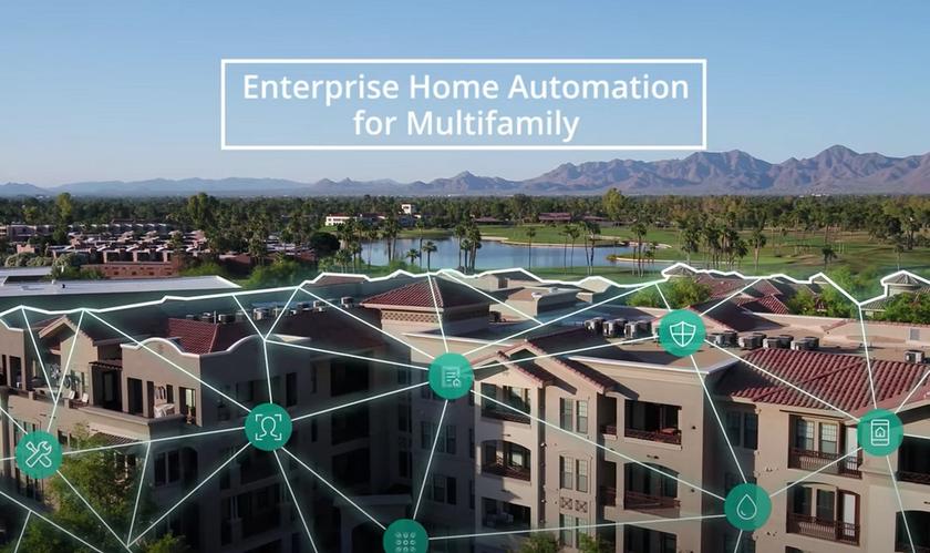 SmartRent: enterprise home automation solutions