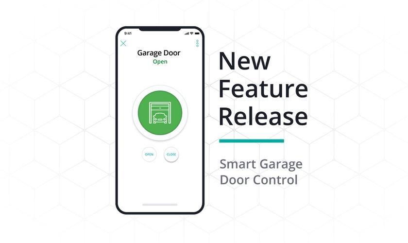New feature release: smart garage door control