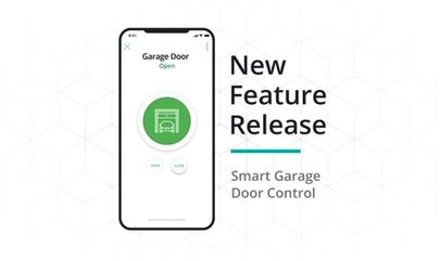 New feature release: smart garage door control