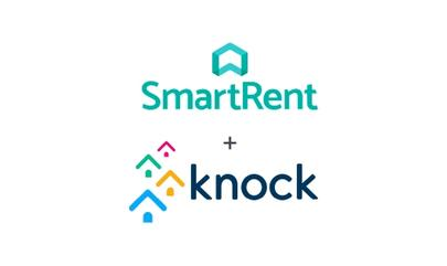 SmartRent and Knock CRM logos