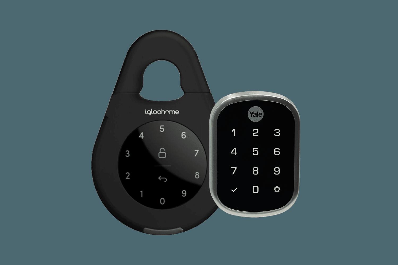 lock box and smart lock