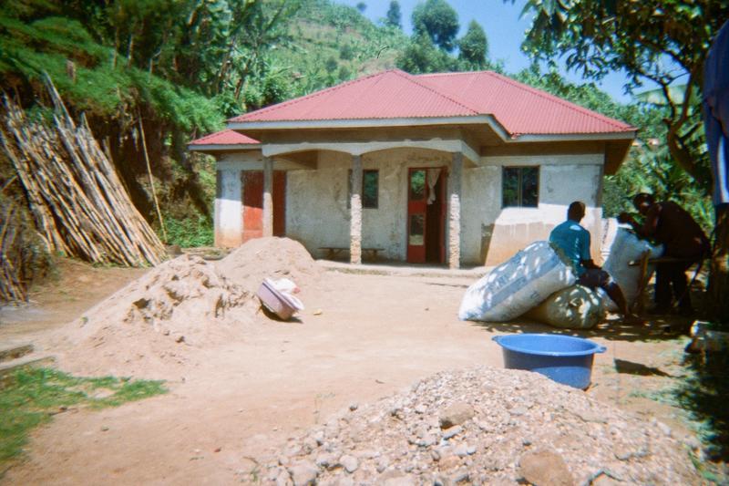 Here is the home of Mubajji Richard C/man LCI Buckanakwa Village who is now working with Zukuka Bora Company