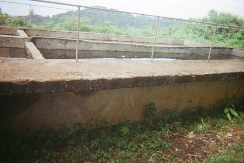 Showing flow water in Wanale National Park and the supplies in two SIGS Wanale and Budwale.