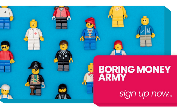 Join The Boring Money Army!