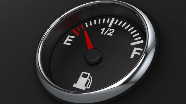 Picture of a fuel gauge