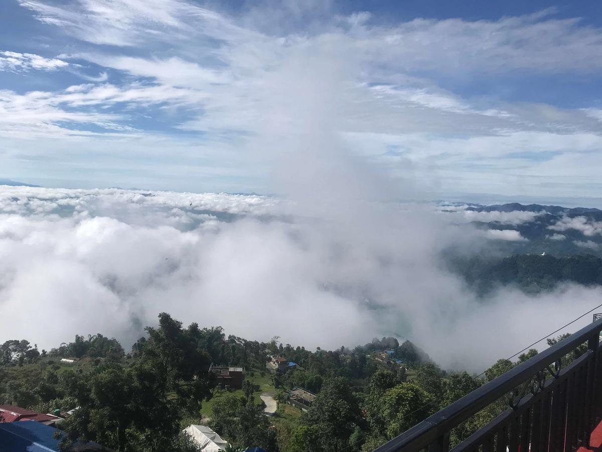 The distance between Pokhara and Sarangkot