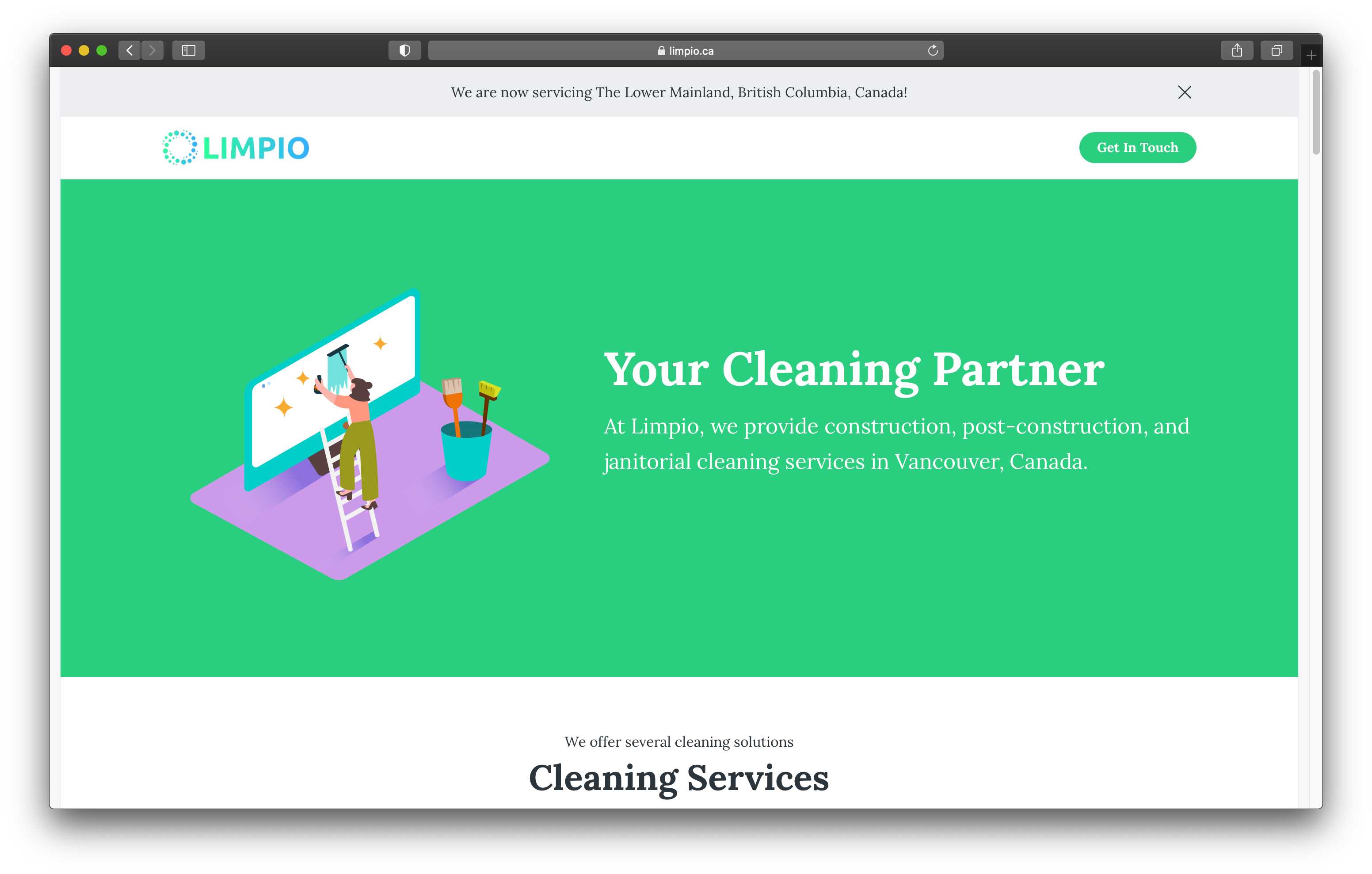Limpio Launches New Website