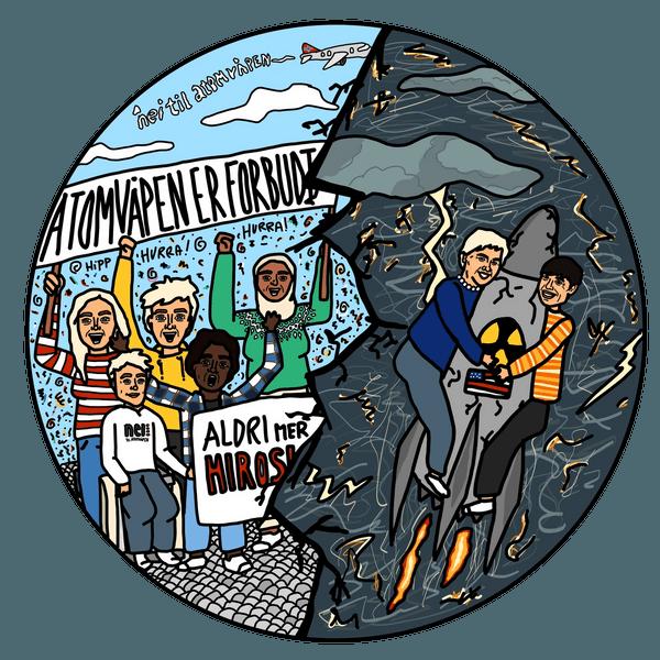 Bli med i kampen mot atomvåpen