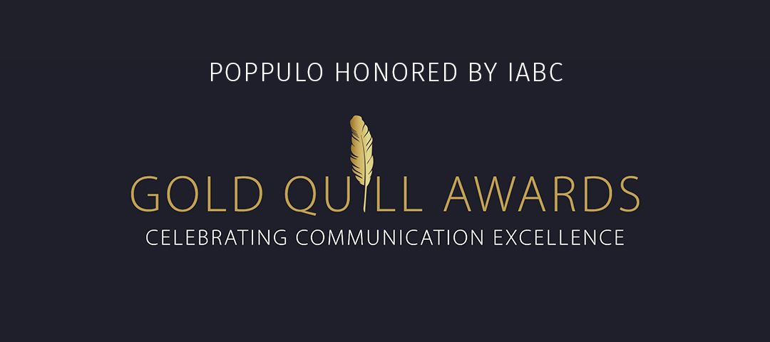 Poppulo campaign linking employee comms to business outcomes wins IABC award