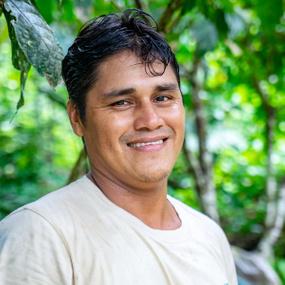 Portrait of Eder Baneo Pérez