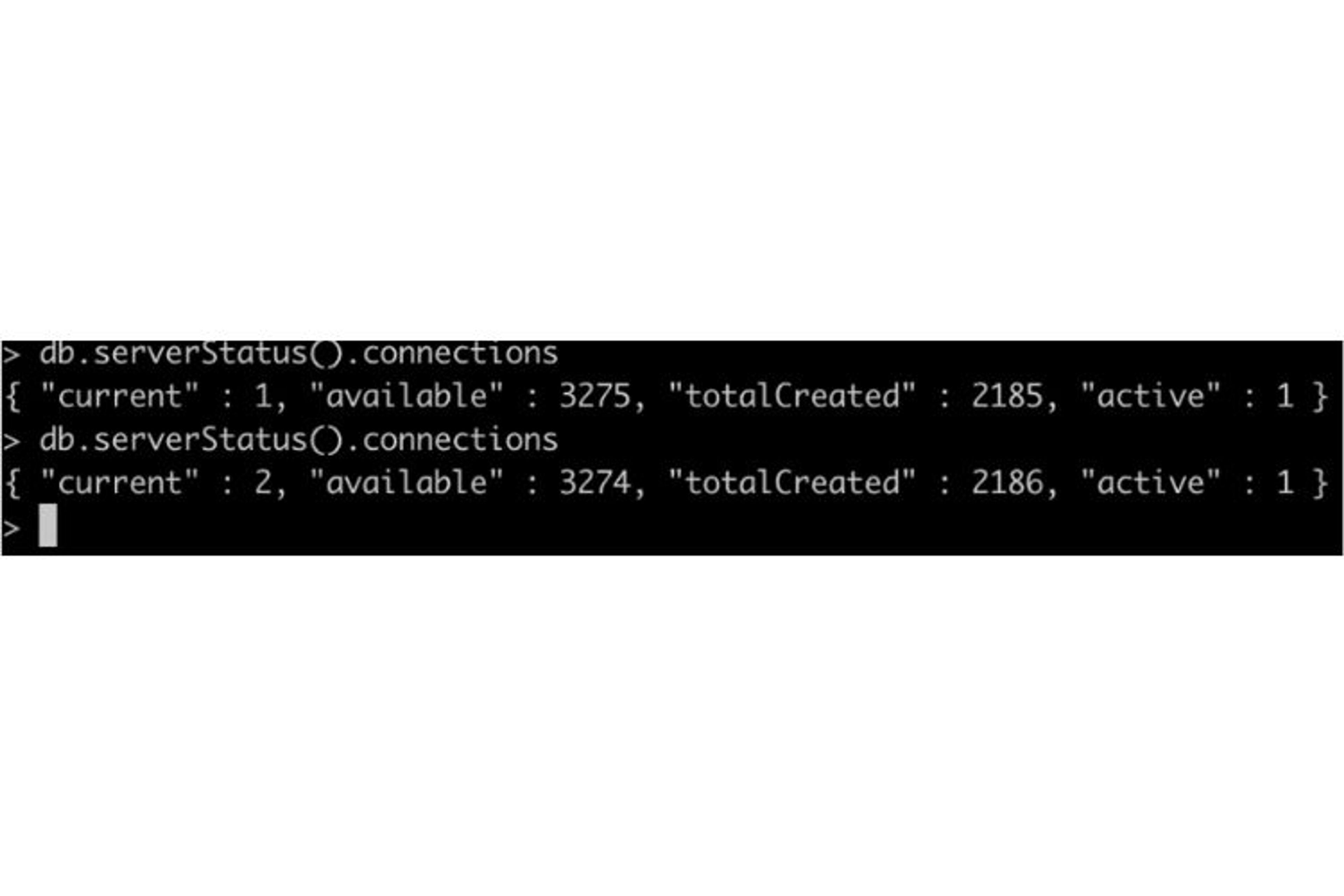 On observe que notre API Node JS MongoDB a bien réussi à se connecter à la base de données