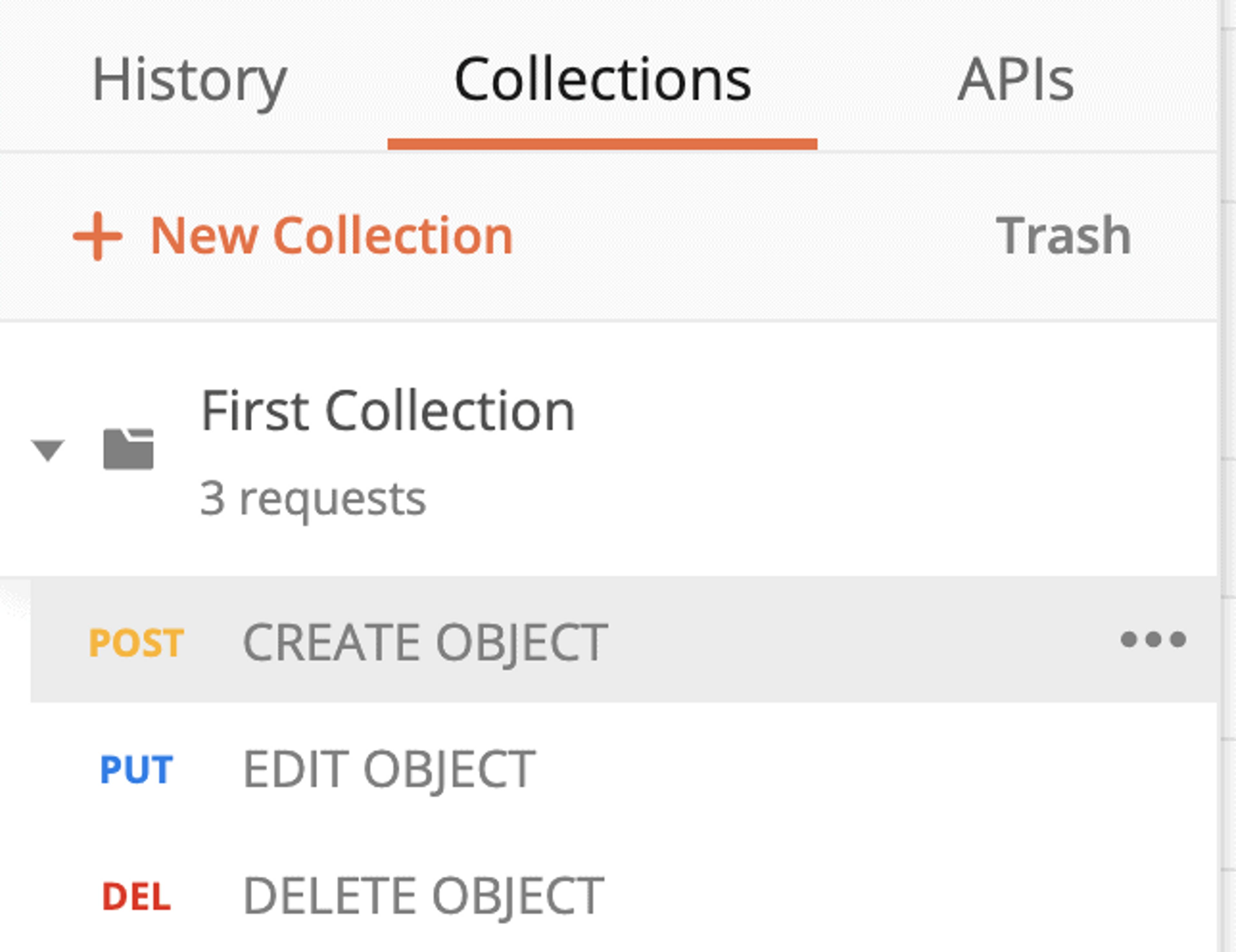 Classez vos requêtes Postman dans des collections