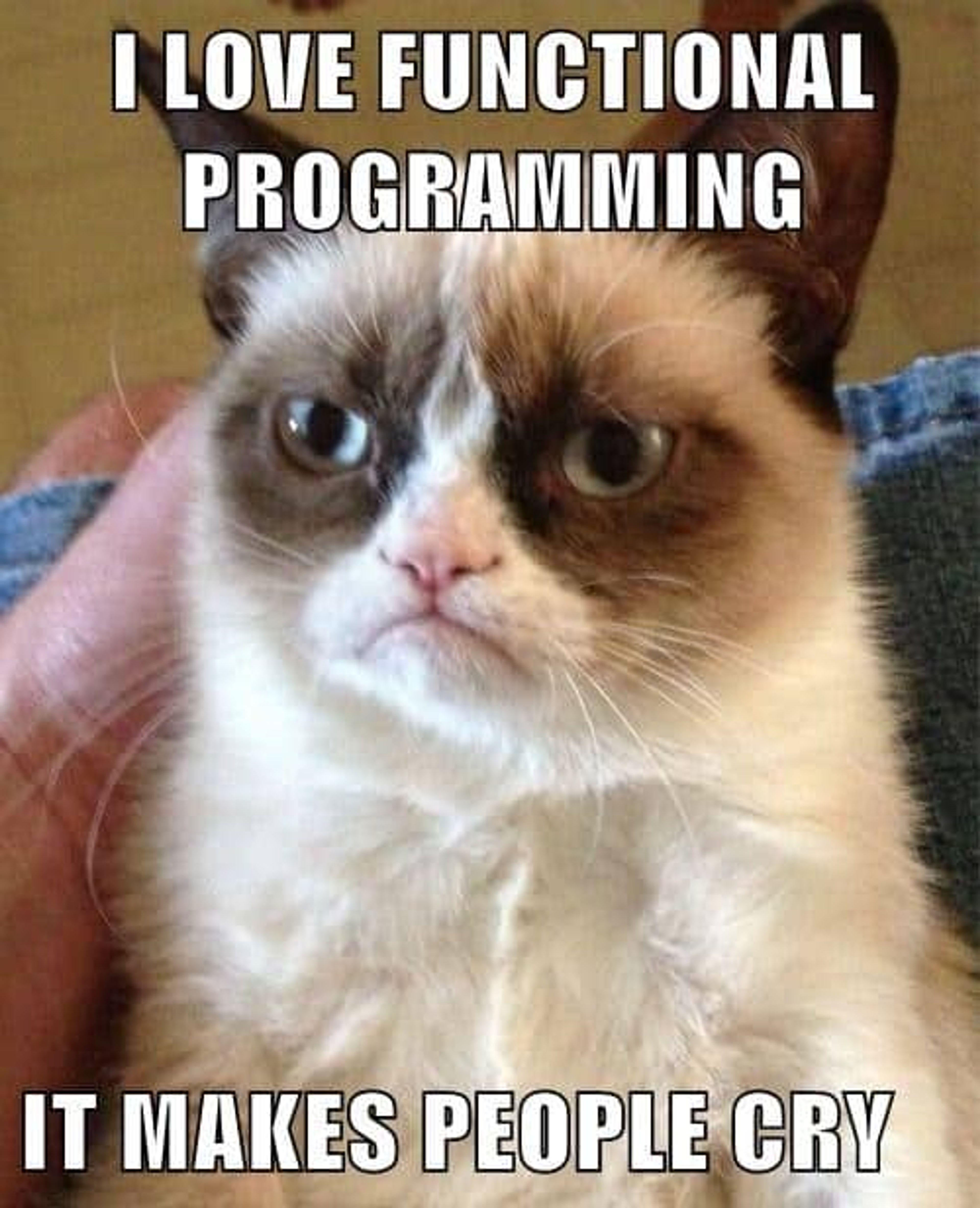 La programmation fonctionnelle est un paradigme plus difficile à prendre en main car moins étudié dans les disciplines informatique