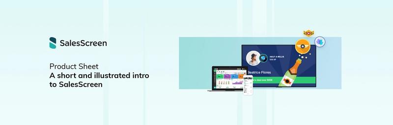 SalesScreen Product Sheet