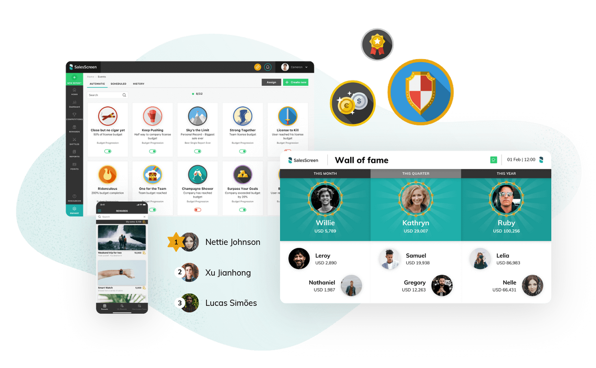 SalesScreen product image