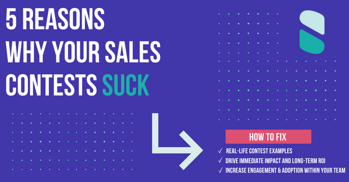5 Reasons Sales Competitions Suck