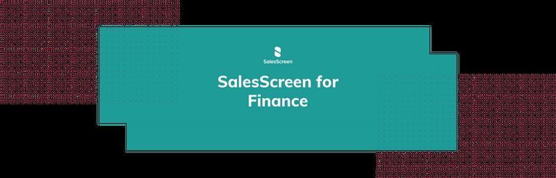 SalesScreen for Finance