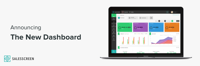 Brand New Dashboard Design!