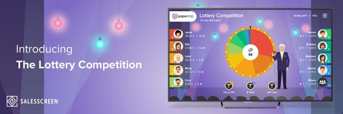 Announcing the Lottery Competition