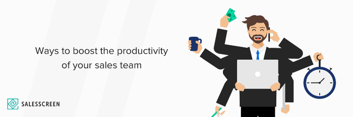 10 Ways to Boost the Productivity of Your Sales Team