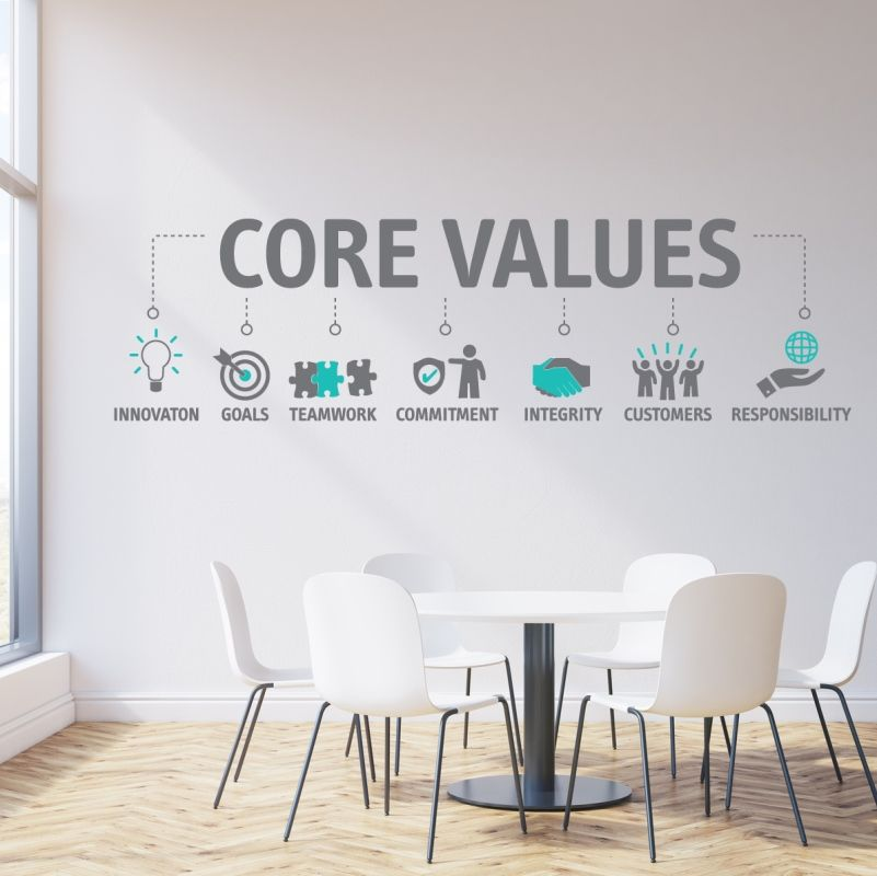 Company Values: More Than Words on a Wall