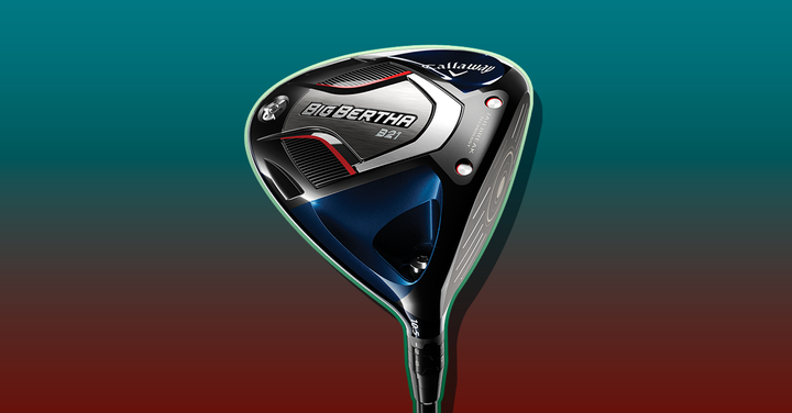 Callaway's 2021 Big Bertha line-up includes both Men's and Women's drivers and uses its AI software to optimize fast ball speeds.