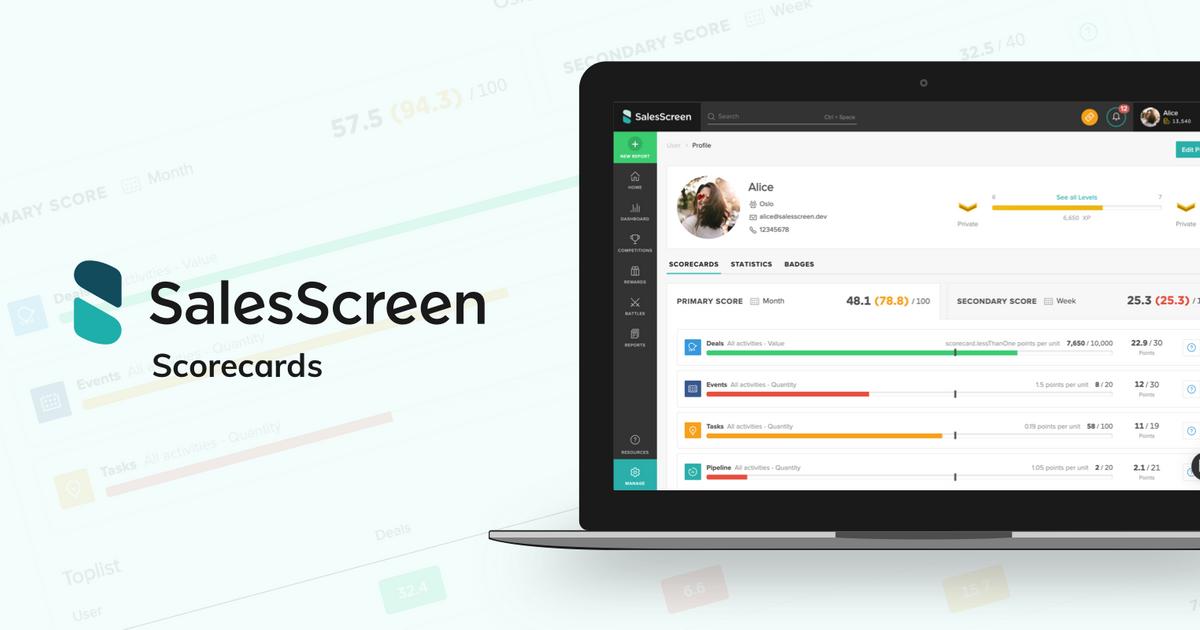 Introducing Scorecards